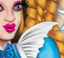 Alice In Wonderland: Holding The Light Sticker