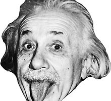 Einstein Tongue  Face  by GodsAutopsy