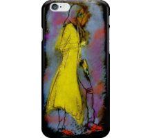 Yellow Coat iPhone Case/Skin