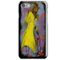 Yellow Coat iPhone Case/Skin