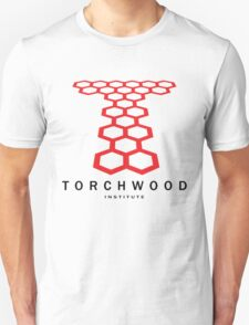 DOCTOR WHO Torchwood University Linear 2 T-Shirt
