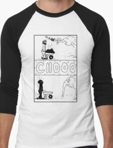 Zoo Humour - Cartoon 0003 Men's Baseball ¾ T-Shirt