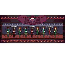 Marsian Squadron Tapestry 01 Photographic Print