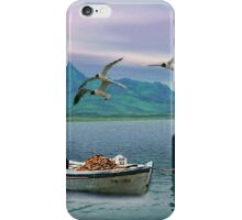 The Lonely Boat iPhone Case/Skin