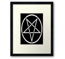 Satanism Framed Print