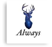 Always - Harry Potter Stag Canvas Print