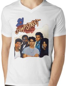21 Jump Street Cast Mens V-Neck T-Shirt