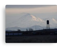 Mount Shasta: Sunset on Snow I Canvas Print