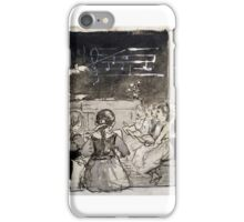 Winslow Homer,  THE MUSIC LESSON iPhone Case/Skin