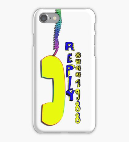 Telephone.Reply 1988 iPhone Case/Skin