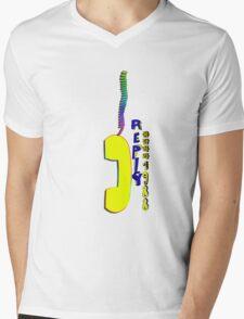 Telephone.Reply 1988 Mens V-Neck T-Shirt