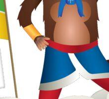 Ninja Monkey Sticker