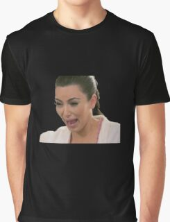 Kim Kardashian Crying Graphic T-Shirt