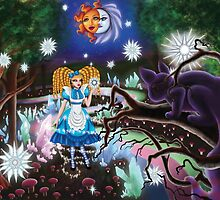Alice In Wonderland: Stars In The Forest by CelestialPearl