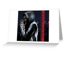 ASAP ROCKY  -  JD Greeting Card