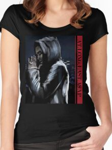 ASAP ROCKY  -  JD Women's Fitted Scoop T-Shirt