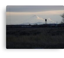 Mount Shasta: Sunset on Snow II Canvas Print