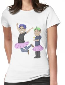 Pretty Princesses Womens Fitted T-Shirt