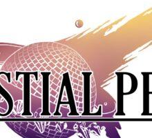 Celestial Pearl Logo 01: Lets Evolve Together Sticker