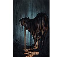 Oil Rain Tiger Photographic Print