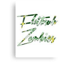 FLATBUSH ZOMBIES SIMPLE LOGO Canvas Print