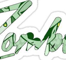 FLATBUSH ZOMBIES SIMPLE LOGO Sticker