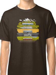 Eastern European Trains Classic T-Shirt