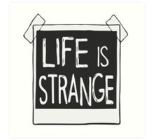 Life is Strange - Polaroid Art Print