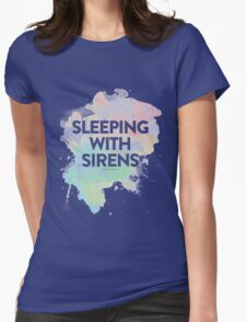 Sleeping With Sirens Womens Fitted T-Shirt