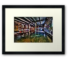 Dystopian factory #2 Framed Print
