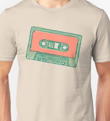 Audio tape sketch Unisex T-Shirt