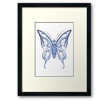 Ribbon Butterfly Framed Print