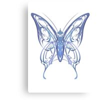 Ribbon Butterfly Canvas Print