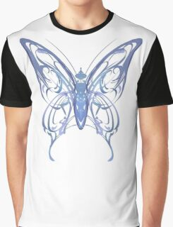 Ribbon Butterfly Graphic T-Shirt