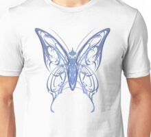 Ribbon Butterfly Unisex T-Shirt