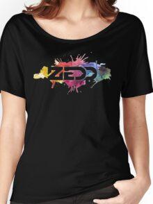 ZEDD COLORFUL LOGO Women's Relaxed Fit T-Shirt