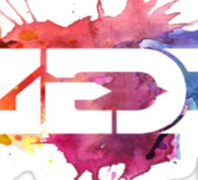 ZEDD COLORFUL LOGO Sticker