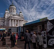 Browsing the Helsinki Day Markets by Kristin Repsher
