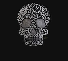 Steampunk Skull (silver) Unisex T-Shirt