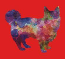 Swedish Vallhund in watercolor Kids Tee