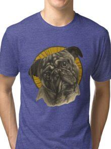 Holy Pug! Tri-blend T-Shirt
