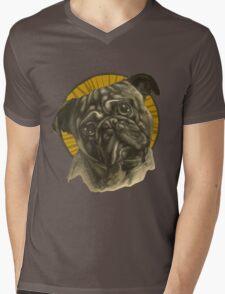Holy Pug! Mens V-Neck T-Shirt