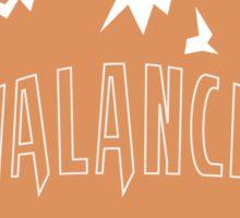 Marmot Ball Logo: Alterac Avalanche Sticker