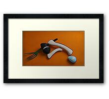 Beach Finds Framed Print