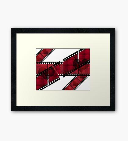 For Love of old Films Framed Print