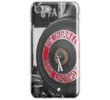Traction engine iPhone Case/Skin