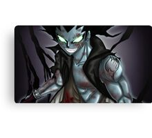 Gajeel from Fairy Tail Canvas Print
