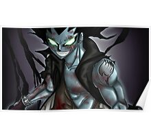 Gajeel from Fairy Tail Poster