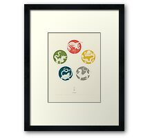 Five Heavenly Beasts Framed Print
