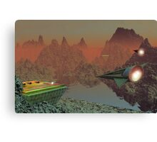Commuter Flights on Talus 5 Canvas Print